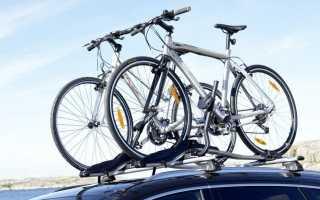 Видео про крепления для велосипедов на машину