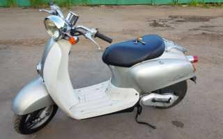 Проблема со светом на Honda Giorno crea AF54