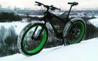 Вы катаетесь зимой на велосипеде?