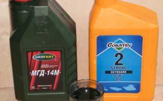 Сколько масла добавлять в бензин при необходимости (таблица)
