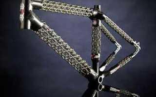Рама для велосипеда: особенности велосипедных рам (карбоновых, титановых)