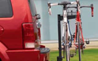 Крепление для велосипеда на машину на фаркоп (велобагажник)