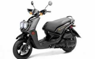 Yamaha Zuma 125 — универсальный скутер для бездорожья и асфальта