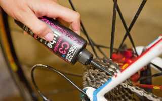 Чем смазать цепь велосипеда — видео