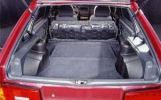 Объем багажника ваз 2108 в литрах